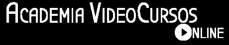 Academia Vídeo Cursos Online Logo Blanco