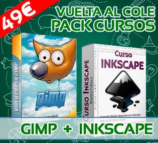 pack gimp inkscape
